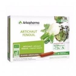Arkopharma Arkofluides Artichaut Fenouil 20 x 10ml pas cher, discount