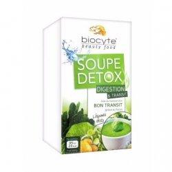 Biocyte Soupe Detox Digestion & Transit Légumes Verts 8x14g