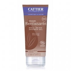 Cattier Gel Douche Bienfaisante Crème Caramel 200ml pas cher, discount