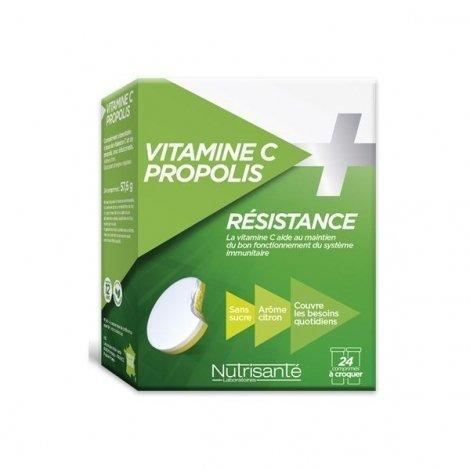 Nutrisante Vitamine C + Propolis Résistance x24 Comprimés à Croquer pas cher, discount