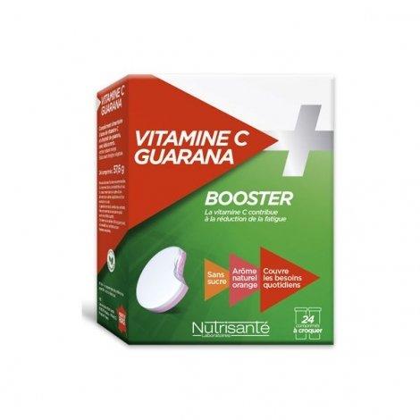 Nutrisante Vitamine C + Guarana Booster 24 Comprimés à Croquer pas cher, discount