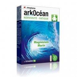 Arkopharma Arkocean Nervosité Fatigue Magnésium Marin 30 Gélules pas cher, discount