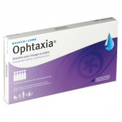 Ophtaxia Solution pour Lavage Oculaire 10 unidoses de 5ml