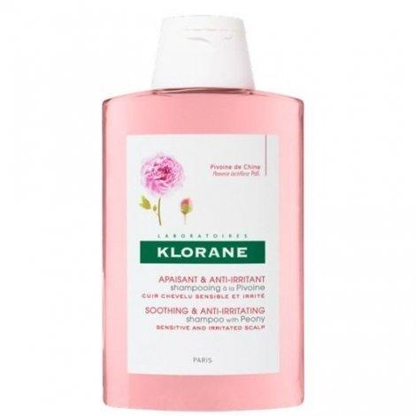 Klorane Shampooing Apaisant Anti-Irritant Pivoine 200ml pas cher, discount