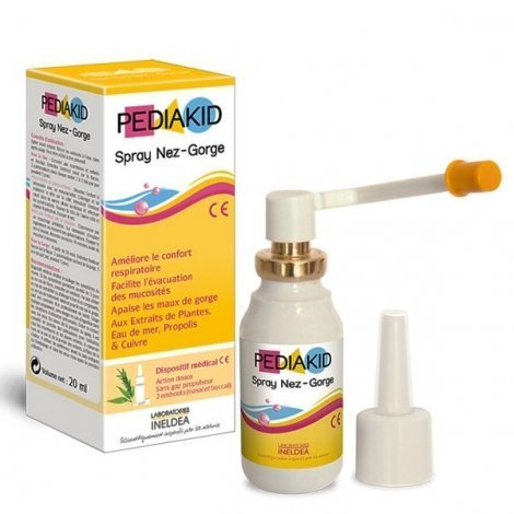 Pediakid Spray Enfant Nez et Gorge 20 ml pas cher, discount