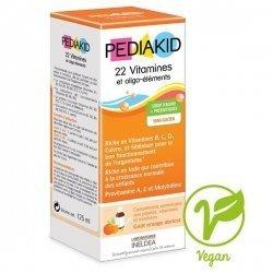 Pediakid Sirop Enfant 22 Vitamines et Oligo-élément 125 ml pas cher, discount