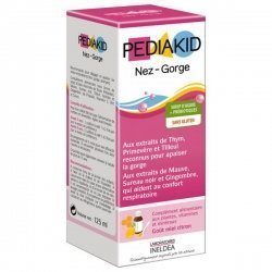 Pediakid Sirop Enfant Nez et Gorge 125 ml