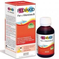 Pediakid Sirop Fer + Vitamine B Enfants 125ml
