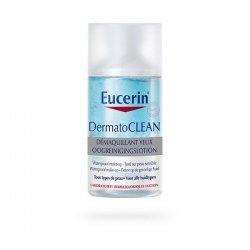 Eucerin DermatoCLEAN Démaquillant Yeux 125 ml pas cher, discount