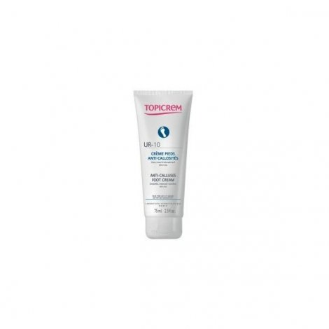 Topicrem UR-10 Crème Pieds Anti Callosités 75ml pas cher, discount