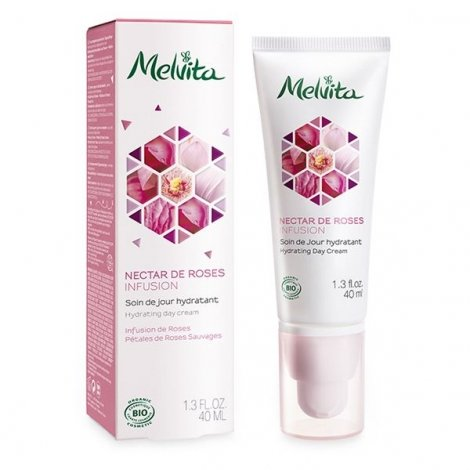 Melvita Nectar de Roses Soin de Jour Hydratant 40 ml pas cher, discount