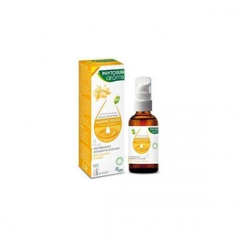 Phytosun Aroms Huile Végétale Bio Amande Douce 50ml pas cher, discount