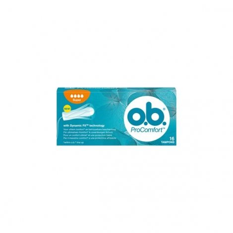 O.B. Tampons ProComfort Super x16 pas cher, discount