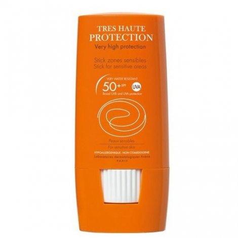 Avène Solaire Stick Zones Sensibles Très Haute Protection SPF50+ 8g pas cher, discount