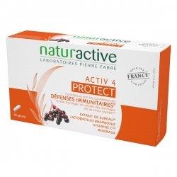 NaturActive Activ4 Protect Défenses Immunitaires 28 Gélules