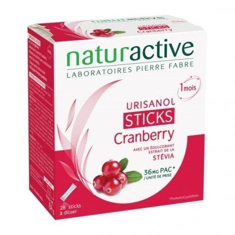NaturActive Urisanol Cranberry 1 mois 28 Sachets Sticks pas cher, discount