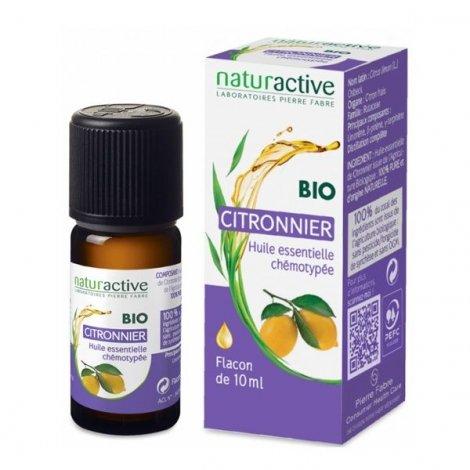 naturactive huile essentielle bio citronnier 10 ml tous les produits naturactive huile. Black Bedroom Furniture Sets. Home Design Ideas