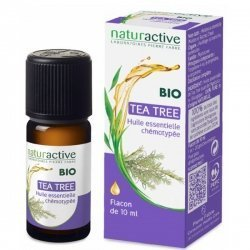 NaturActive Huile Essentielle Bio Tea Tree (Arbre à Thé) 10 ml
