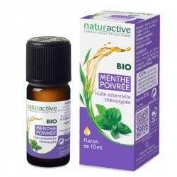 NaturActive Huile Essentielle Bio Menthe Poivrée 10 ml pas cher, discount