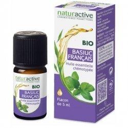 NaturActive Huile Essentielle Bio Basilic Français 5 ml