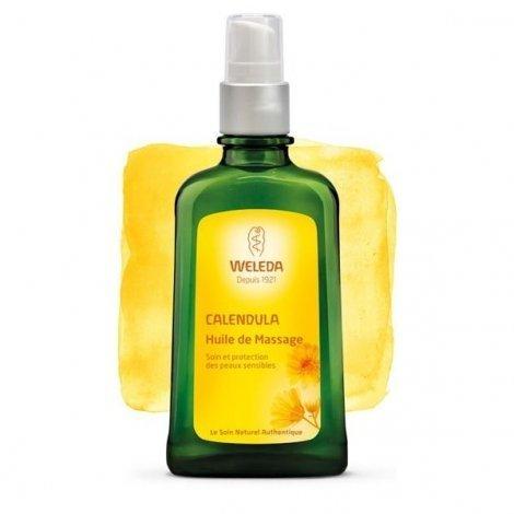 Weleda Huile de Massage au Calendula 100 ml pas cher, discount