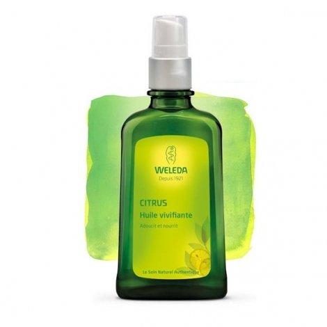 Weleda Huile Vivifiante Bio Au Citrus 100 ml pas cher, discount