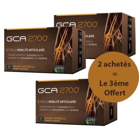 Santé Verte GCA 2700 Articulations LOT de 3x 60 Comprimés 2+1 OFFERT pas cher, discount