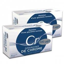 Granions De Chrome 200 µg Offre Speciale Lot de 2x30 Ampoules