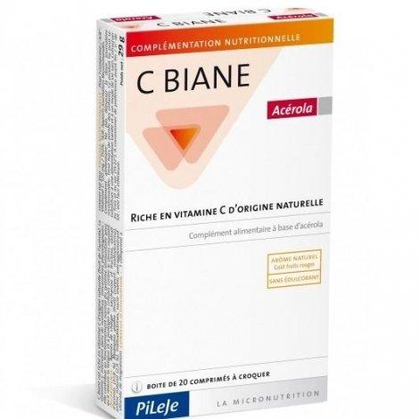 Pileje C Biane Acérola x20 Comprimés pas cher, discount
