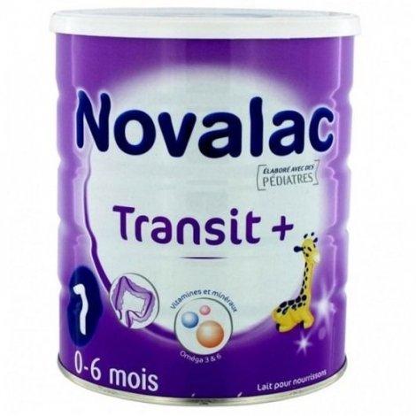 Novalac Transit+ Lait Poudre 0-6 Mois 800g pas cher, discount