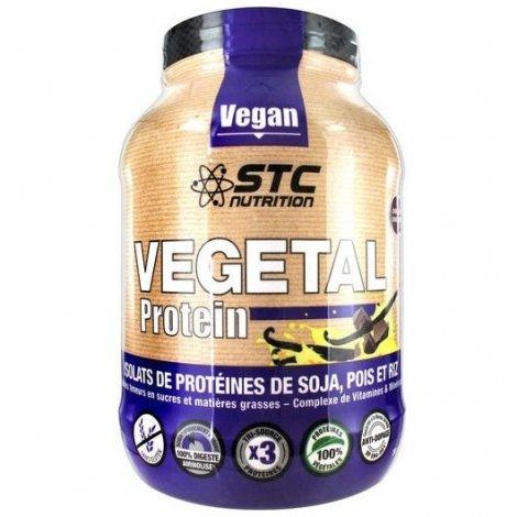 STC Nutrition Vegetal Protein Isolats Végétales Chocolat 750g pas cher, discount