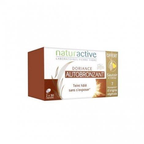 Doriance pack Autobronzant Naturactive 2x30 Capsules pas cher, discount