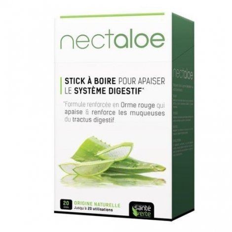 Santé Verte Nectaloe Apaisant Digestion x20 Sticks pas cher, discount