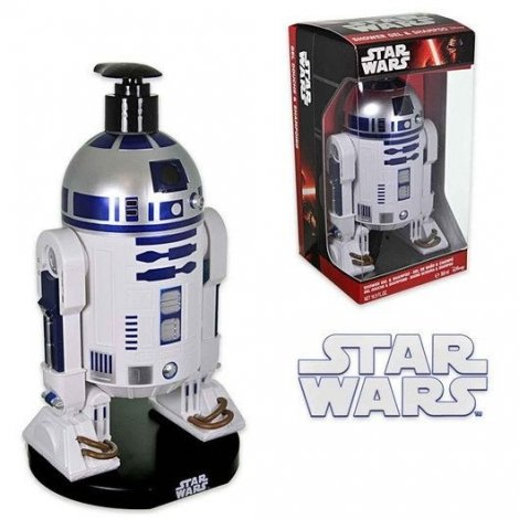 Star Wars Figurine 3D R2D2 Gel Douche & Shampooing 500ml pas cher, discount