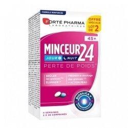 Forté Pharma Minceur 24 Perte De Poids 2x28 Comprimés pas cher, discount
