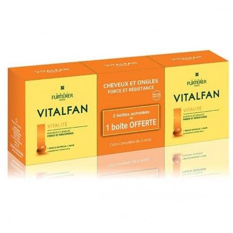 Furterer Vitalfan Vitalité Cheveux Ongles Force Résistance x90 Capsules pas cher, discount