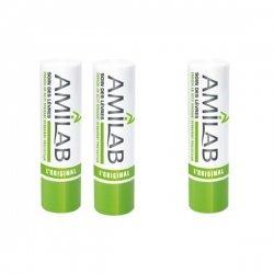 Baume Lèvres Amilab 2 Sticks + 1 Offert pas cher, discount
