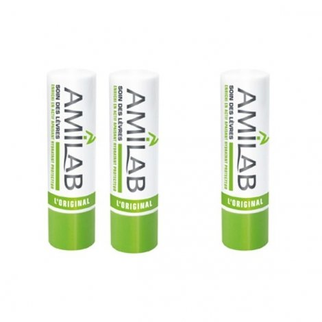 Amilab Baume Lèvres x3 Sticks pas cher, discount