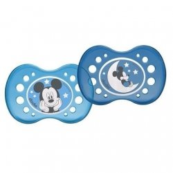 Dodie Disney Sucette Anatomique Silicone Duo Mickey +18 Mois pas cher, discount
