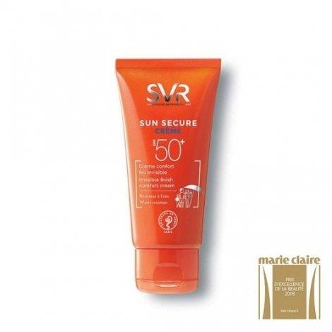 SVR Sun Secure Crème Confort Invisible SPF50+ 50ml pas cher, discount
