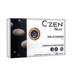 Bausch & Lomb C'Zen Nuit Mélatonine x30 Comprimés