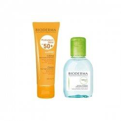 Bioderma Photoderm Crème Solaire SPF50+ 40ml + Eau Micellaire 100ml pas cher, discount