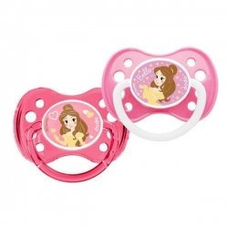 Dodie Disney Sucette Anatomique Silicone Duo Belle +6 Mois