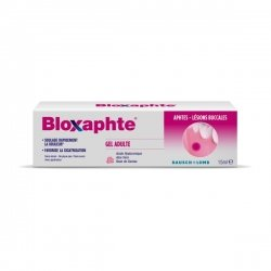 Bausch + Lomb Bloxaphte Gel Adulte Aphtes 15ml