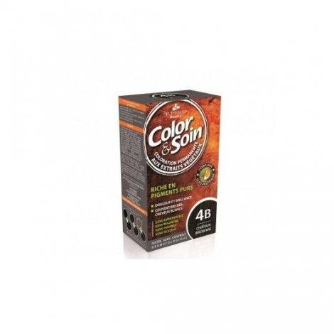 3 Chênes Color & Soin Coloration Permanente Châtain Brownie 4B pas cher, discount
