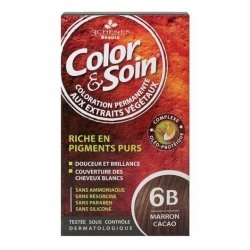 Parapharmacie : 3 Chênes Color & Soin Coloration Permanente Marron Cacao 6B
