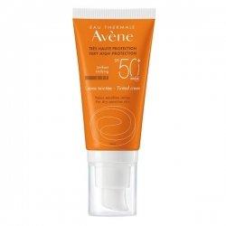 Avène Solaire Crème Solaire SPF50+ Teintée pour Peaux Sensibles 50 ml pas cher, discount