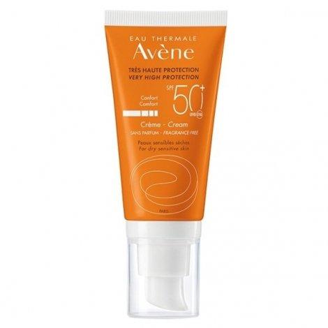 Avène Solaire Crème Sans Parfum SPF50+ 50ml pas cher, discount