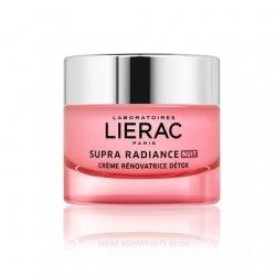 Liérac Supra Radiance Nuit Crème Rénovatrice Détox 50ml