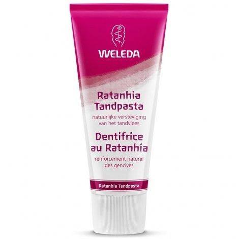 Weleda Pâte Dentifrice au Ratanhia 75ml pas cher, discount